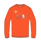 Umbro Men's Center LS - Orange