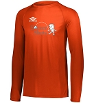 Umbro Long Sleeve Performance Tee - 3XL