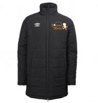 Umbro Men's Padded Jacket - Black