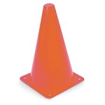 Orange Tall Cones (9-inch)