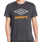 Umbro Men's Double Diamond Ultra Tee - Grey