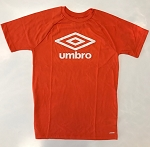 Umbro Men's Double Diamond Ultra Tee - Orange