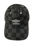 Umbro Checkered Dad Cap - Black